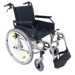 Leichtgewicht-Rollstuhl Freetec mit Begleitpersonenbr..