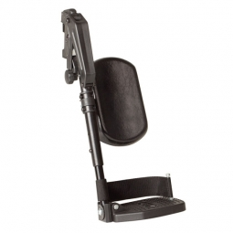 winkelverstellbare Beinstütze mit Auflage für Rollstühle der Caneo-Reihe