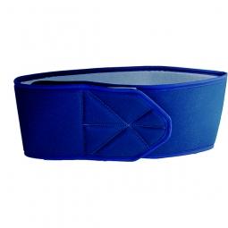 Ceinture de maintien du torse avec fermeture velcro / bleu foncé