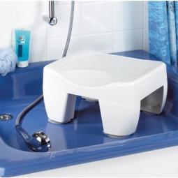Tabouret de baignoire et réducteur 2 en 1
