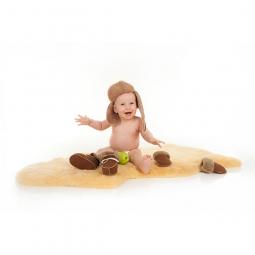 Peau d'agneau à tannage médical pour bébés