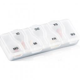 Pilulier semainier Midi 7 à 7 compartiments séparés