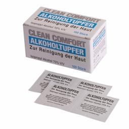 Alkoholtupfer - Pack à 100 Stück