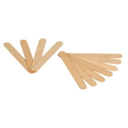 Spatule buccale en bois non stérile - sachet de 100 pièces