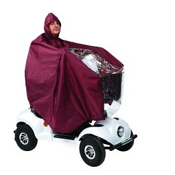Regenpelerine zu Scooter