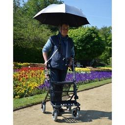 Parapluie/parasol pour déambulateur/fauteuils roulants